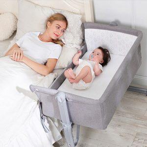 Giường cũi trẻ em trong khách sạn mẫu 01
