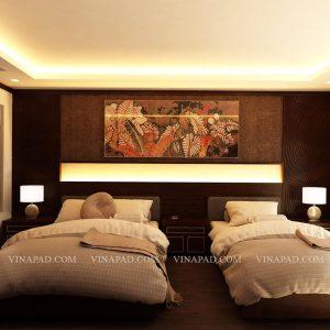 Set nội thất phòng ngủ khách sạn 04