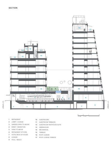 Bản vẽ chi tiết thiết kế mặt bằng khách sạn 5 sao.