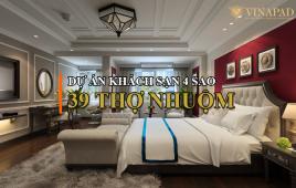 Dự án thi công nội thất khách sạn 39 Thợ Nhuộm đẳng cấp 4 sao tại phố cổ Hà Nội