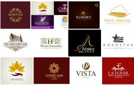 Top 100 mẫu logo khách sạn đẹp mắt, toát lên thương hiệu sang trọng