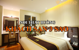 Danh sách 46 trang thiết bị nội thất khách sạn 3 sao cho buồng phòng