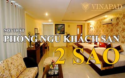 Top 6 nội thất phòng ngủ khách sạn 2 sao rẻ đẹp nhất Việt Nam