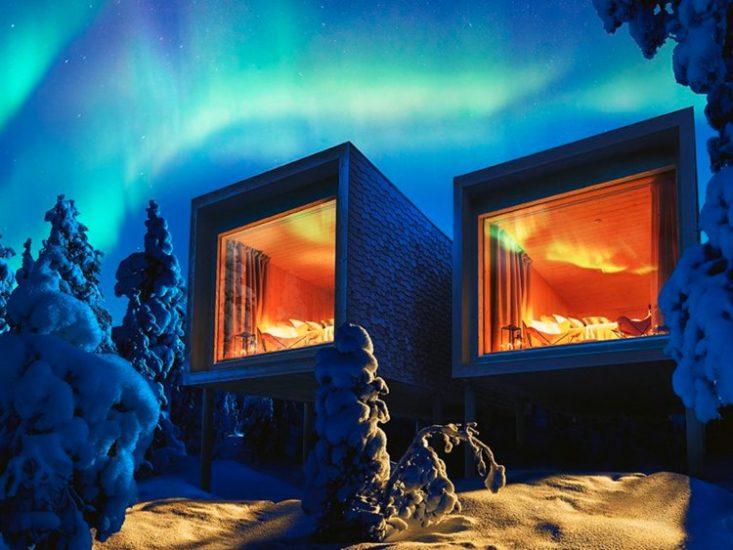 Phong nghi khach san Arctic TreeHouse