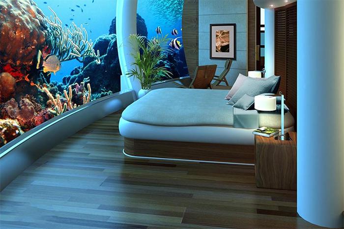 Phong nghi khach san Poseidon Undersea Resort