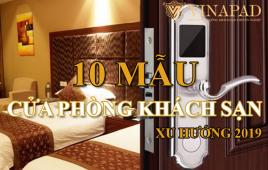 Top 10 mẫu cửa gỗ khách sạn đẹp cao cấp xu hướng 2019