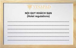 Chi tiết nội quy khách sạn 2,3,4,5 sao và link tải mẫu nội quy