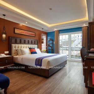 Bộ nội thất phòng ngủ khách sạn Eden Boutique Sapa 3 sao++
