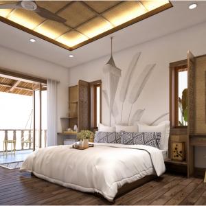 Set nội thất phòng ngủ khách sạn 10
