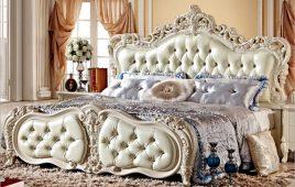 Đặc điểm của giường châu Âu kèm các mẫu giường đẹp và ấn tượng