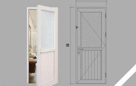 Tiêu chuẩn kích thước cửa nhà vệ sinh phong thủy – đẹp
