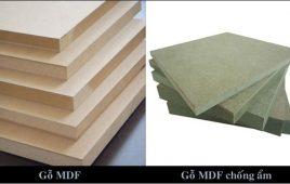 Giải đáp: Nên dùng gỗ MDF hay HDF?