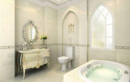 Nội thất phòng tắm khách sạn tân cổ điển