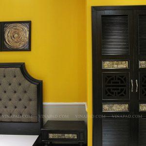 Bộ nội thất phòng ngủ cổ điển Đông Dương