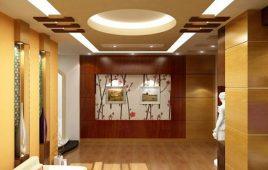 Tìm hiểu về trần thạch cao kết hợp gỗ