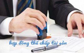 Tìm hiểu về bản hợp đồng thế chấp tài sản