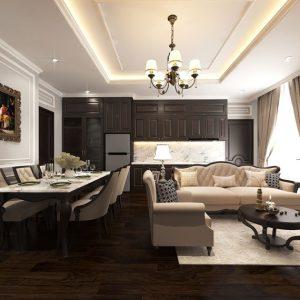 Bộ nội thất căn hộ khách sạn Condotel BiliCom (2 phòng ngủ)