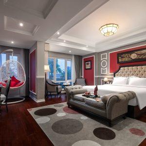 Bộ nội thất phòng ngủ VIP khách sạn 4 sao
