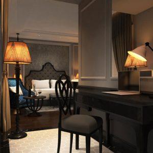 Bộ nội thất phòng khách sạn Hanoi Imperial – 44 Hàng Hành