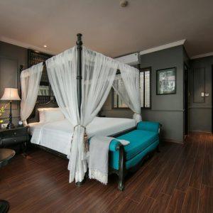 Bộ nội thất phòng ngủ khách sạn GrandCollection – Bát Sứ, Hà Nội