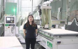 [Phỏng vấn] Cấn Thị Thanh Huyền – nữ cán bộ vận hành máy CNC tại VINAPAD