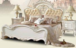 Bộ sưu tập mẫu giường tân cổ điển đẹp, sang trọng nhất 2019