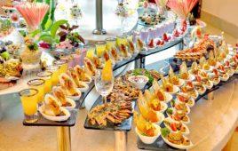 Cách setup bàn tiệc Buffet đúng chuẩn nhất
