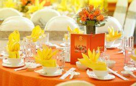 Cách bày bàn ăn kiểu Việt Nam san trọng phục vụ bàn cần biết