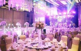 Hướng dẫn chi tiết cách setup bàn tiệc cưới kiểu Á chuyên nghiệp