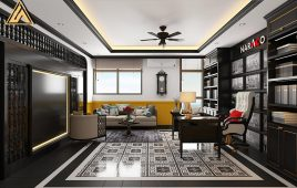 Thiết kế nội thất văn phòng số 10 Tam Trinh