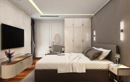 Thi công nội thất căn hộ chung cư HC905