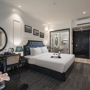 Trọn bộ 11 chi tiết nội thất phòng khách sạn Essence chỉ 45 triệu đồng
