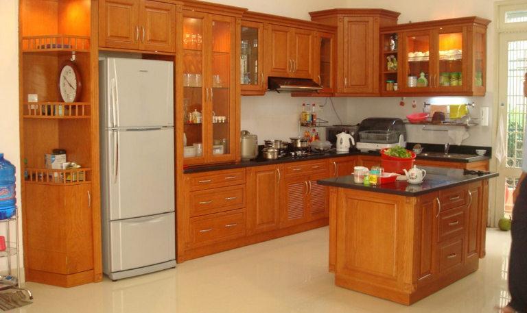 Cách làm tủ bếp