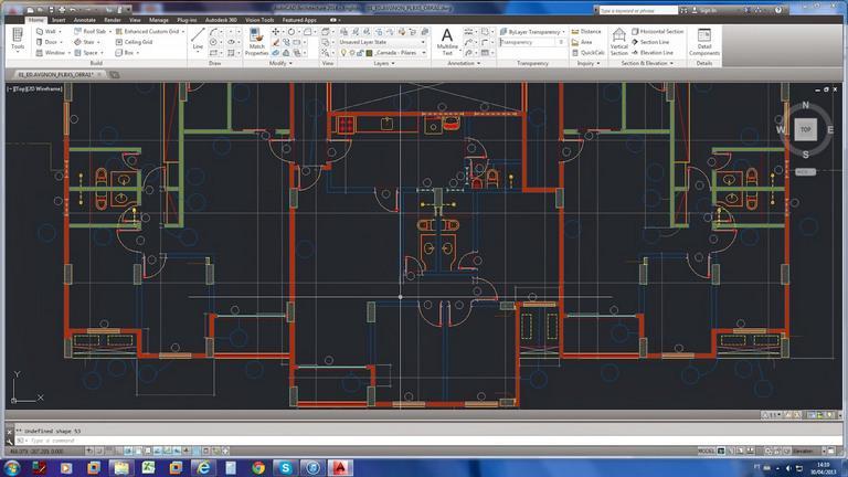 Thiết kế kiến trúc 2D