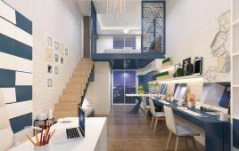 Thiết kế Officetel với công năng hoàn hảo, đẹp cuốn hút