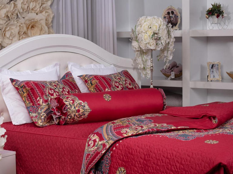 Trang trí giường cưới hợp phong thủy