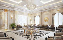Thiết kế biệt thự và phong cách nội thất xứng tầm