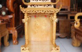 Kích thước bàn thờ ông địa chuẩn hiện nay – tham khảo chi tiết