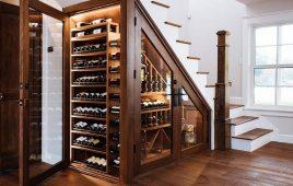 Mẫu tủ gỗ gầm cầu thang đẹp, đáng mua nhất năm 2021