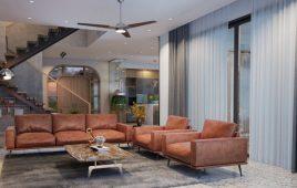 Thi công nội thất nghỉ dưỡng: biệt thự Flamingo Đại Lải