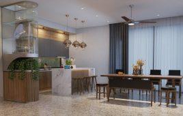 Lời khuyên hữu ích khi thiết kế phòng bếp theo phong cách Indochine