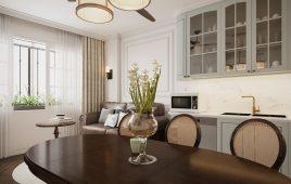 Thi công nội thất nhà phố với phong cách Bắc Âu, tân cổ điển