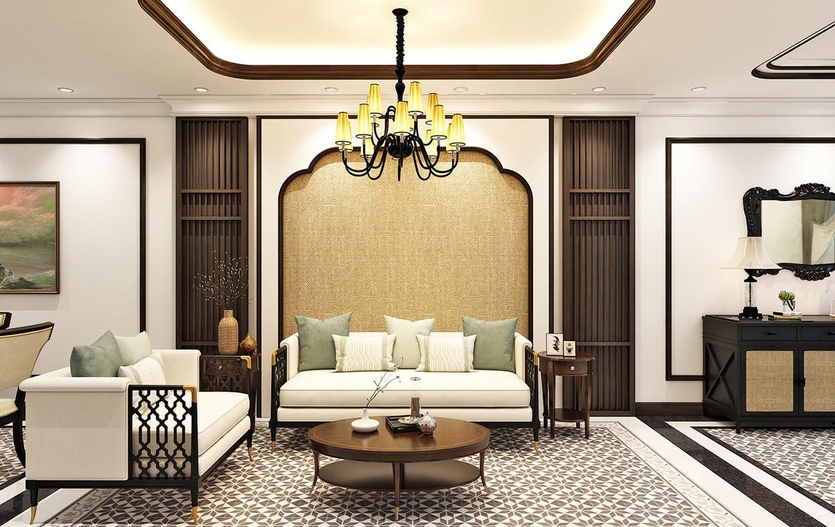 thiết kế nội thất biệt thự phổ biến