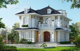 Các loại biệt thự nổi bật trong xây dựng